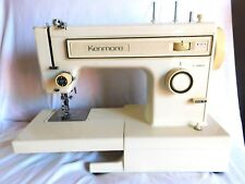 Vintage Kenmore Model 12121 Household Sewing Machine With Foot Pedal