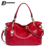 BOSTANTEN Leather Handbags Tote Purse Shoulder Crossbody Bags for Women