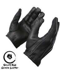 Men's Driving Low Cut Leather Gloves Fit Premium Soft