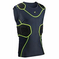 Champro Football / Lacrosse ADULT Bull Rush Sleeveless, Padded Compression Shirt