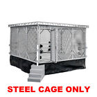 Steel Cage Playset for Figures Toy Company Wrestling Ring