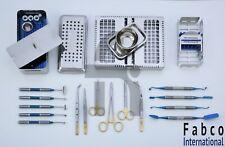 Dental PRF Box GRF System Platelet Rich Fibrin Blue Titanium Soft Brushing Kit