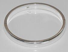 Sterling Silber 925 Armreifen Armband oval einfach schlicht poliert ca 14,5 g