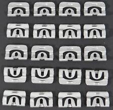 1968-1972 CHEVY CHEVELLE REAR WINDOW GLASS MOLDING CLIPS SET 20 FOR TRIM
