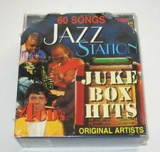 JAZZ STATION MUSIC 4 CD SET 60 SONGS VARIOUS ARTISTS JUKE BOX HITS NEW SEALED