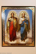 Archangels Michael and Gabriel Icon Архангелы Михаил и Гавриил Икона 15х18