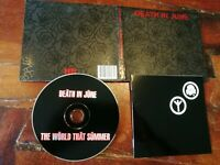 Death in June - The World that Summer Digipack Edition Cd Perfetto Mint