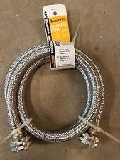 "Washer Washing Machine 4' Stainless Steel Inlet Fill hose Danco 3/4"""