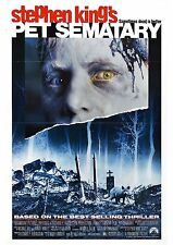 Pet Sematary - Stephen King - Fred Gwynne - A4 Laminated Mini Movie Poster