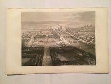 GRAVURE GEOGRAPHIE UNIVERSELLE 1881 MALTE BRUN PARIS