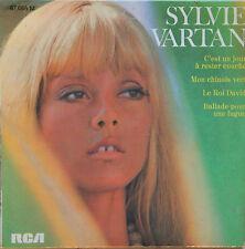 """Vinyle 45T Sylvie Vartan """"C'est un jour à rester couché"""""""