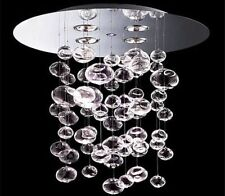 60cm Murano Due Ether Chandelier Bubble Glass Ceiling Light Contemporary Fixture