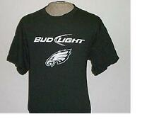 BUDWEISER BUD LIGHT NFL FOOTBALL PHILADELPHIA EAGLES MENS T-SHIRT L 42 44 NEW