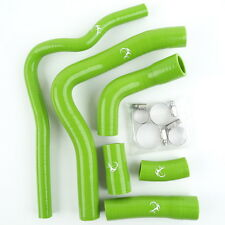 Green Silicone Radiator Cooling Hose + Clamps For YAMAHA YZF R1 2004 2005 2006