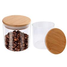 Food Storage Jar, 18.6 FL OZ (550 ML), 77L Glass Food Storage Jar with Airtight