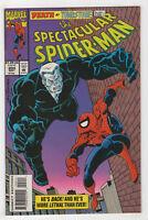 Spectacular Spider-Man #204 (1993 Marvel) [Tombstone] Steven Grant Sal Buscema v