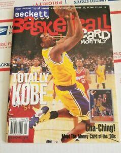 Beckett Basketball Card Monthly Kobe Bryant LA Lakers Magazine May 1998