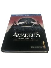 Amadeus Director's Cut Blu-ray Digibook Rare Oop! w/ Special Cd