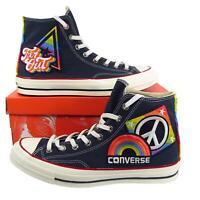 Converse Chuck Taylor 70's Hi Pride Parade Rainbow Patches LGBTQ 158419C RARE!