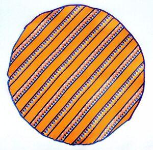 Lord R Colton Masterworks Pocket Marigold Striped Survival Silk - $75 Retail New