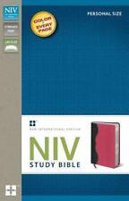 Zondervan NIV Study Bible (2011, Black Bonded Leather)