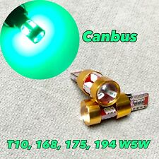 Canbus T10 27 LED Green Bulb Parking Light W5W 168 194 2825 W1 For BMW JAE