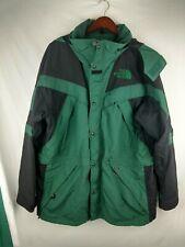 VINTAGE THE NORTH FACE Extreme Light Jacket Parka Coat Green Black Mens XL