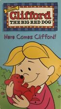 Clifford the Big Red Dog-Here Comes Clifford(VHS 2001)TESTED-RARE VINTAGE-SHIP24