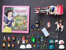 PLAYMOBIL 4211 Snow White Fairy Tale Playset Carriage EXTRAS Classic Disney Book