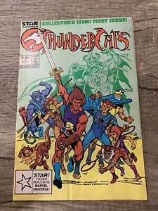 Thundercats 1 Star Comics Marvel 1985 1st Appearance Of The Thundercats