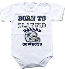 Dallas Cowboys Baby Infant Newborn 3m 6m 9m 12m 18m 24m Sequins Prissy Bodysuit