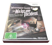Mystery Case Files: The Malgrave Nintendo Wii PAL *Complete* Wii U Compatible