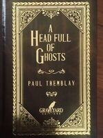A Head Full of Ghosts - Paul Tremblay SIGNED / LIMITED 500 CD Graveyard Ed. #4
