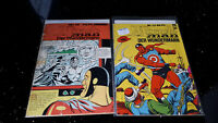"""COMICS   """" MIRACLE MAN """"  BSV 1966   2 Bände  Z3   bb"""
