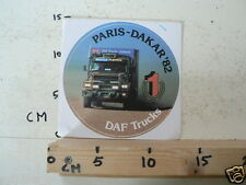 STICKER,DECALS DAF SET 3A 10 PARIS-DAKAR DAF TRUCK STICKERS 1982-1988