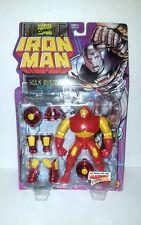 NEW Iron Man Animated Series Hulk Buster Iron Man RARE ToyBiz 1995 Action Figure