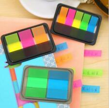 Small Sticky Notes Paper Diary Notebook Memo Pad Tab Office 5 Strips