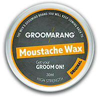 Moustache & Beard Wax Extra Strong Original 100% Natural Hair Care Organic Vegan