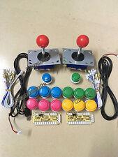Arcade DIY parts for JAMMA MAME USB Cabinet : buttons, joysticks, USB interface