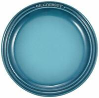 Le Creuset Plate Round Plate LC 23 cm Marine Blue Expedited Shipping Japan NEW