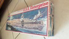 Maquette vintage REVELL Porte avion  NUCLEAR CARRIER USS ENTERPRISE N° 5046