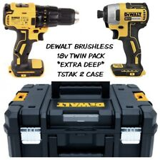 Dewalt DCF787N 18V Brushless Impact Driver With DCD777N  Drill  DRIVER Twin Pack