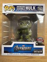 Mint! Funko POP! Marvel Avengers Assemble HULK Special Edition Sticker In Hand