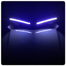 White Sidefacing LED DRL / EyeBrow Light for the Can-Am Spyder F3 (Pair)