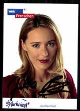 Julia Beerhold la anrheiner autografiada mapa original firmado # bc 8946