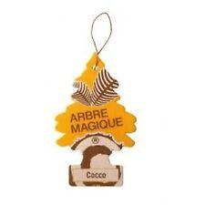 Magic Tree coche ambientador Duo regalo paquete de 2 Coco Y Hielo Negro