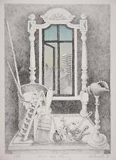 VONDERWERTH, KLAUS - Nostro nuovo Appartamento - Litografia a colori 1979