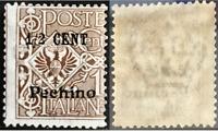 ITALY - Levante - Pechino - Sassone n.19 cv 1800$ MNH** with Certificate