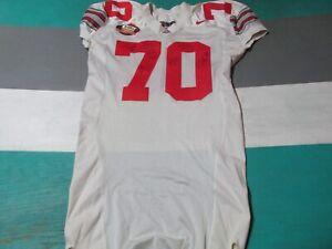 2003 Ohio State Brandon Maupin Un used Fiesta Bowl Game Football Jersey