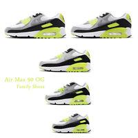Nike Air Max 90 OG 2020 Volt White Grey Black Men Women Classic Shoes Pick 1